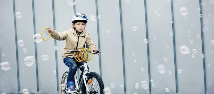 Alle børn cykler